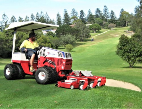 New equipment adds to golf course efficiency at Tuross Head